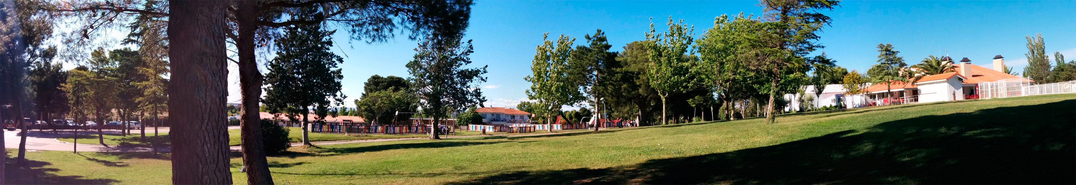 zonas verdes camping